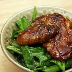 Chicken Yakitori - grilled chicken with an authentic Japanese sweet & sticky soy glaze.