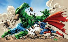 Superman Vs Hulk