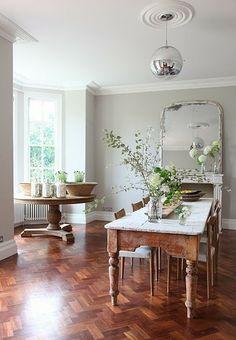 Mod Vintage Life: Dining Room Inspiration