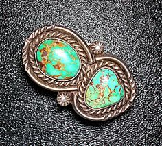 Ring Carico Lake Sterling Silver Turquoise Navajo  (Image1)
