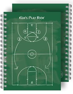 Impress your coach! Personalize the Playbook Basketball Notebook with their name and score points! A great teacher's gift! Personalized Teacher Gifts, Great Teacher Gifts, Personalized Stationery, Coach Gifts, Team Gifts, Custom Journals, Basketball Teams, Note Cards, Notebook