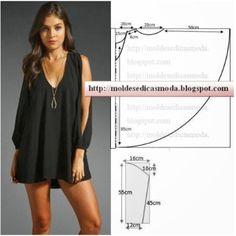 (누구나 할수 있는) 옷만들기패턴 / 성인옷패턴 / 무료옷패턴 / 원피스 패턴 / 무료패턴_해외자료모음 (4) : 네이버 블로그