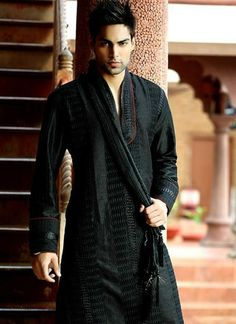 Cocktail Black Kurta Pyjama