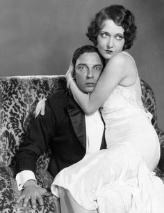 Dorothy Sebastian and Buster Keaton, 1929 In Spite Marriage