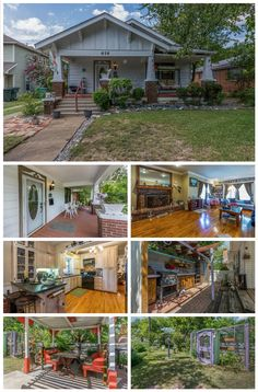 414 Cleveland Ave., Sherman 75090 $139,500 Meticulosly remodeled, Nostalgic porch begin experience. Wood floors, carpet. Liv room features brick Vintage Fireplace, takes your breathe away. Kitchen: custom cabinets stainless steel appliances. Split bedrooms. Walk outside; wood deck over looking outdoor Kitchen with sink, cement counter tops and grill. Custom built table chairs and pergola. Enclosed garden landscaping is beautiful Detached 2 car gar with shop. Alley access. PERFECT!! MLS#…