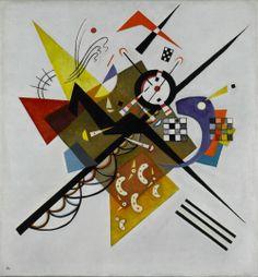Vassily Kandinsky - Auf weiss II (Su bianco II), 1923