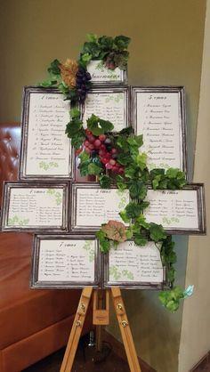 Винно-виноградная свадьба