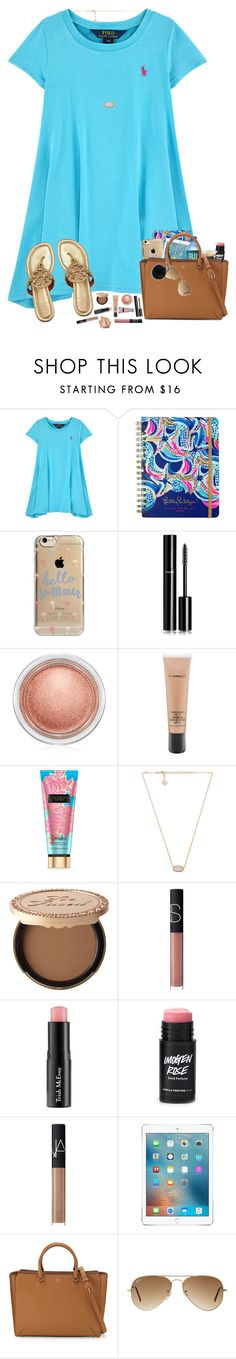 """""""hey, all you had to do was stay..."""" by hopemarlee ❤ liked on Polyvore featuring Tory Burch, Lilly Pulitzer, Agent 18, Chanel, MAC Cosmetics, Kendra Scott, Too Faced Cosmetics, NARS Cosmetics, Trish McEvoy and Stila"""