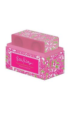Lilly Pulitzer Wireless Bluetooth Speaker- I NEED THIS IN MY LIFE!!!!