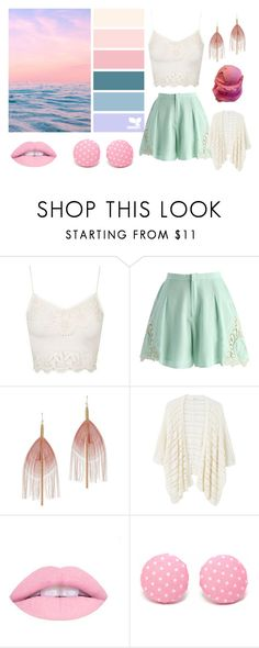"""""""Untitled #147"""" by cj34turtles ❤ liked on Polyvore featuring Topshop, Chicwish, Serefina, MANGO and Laurafallulah"""