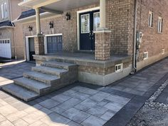 Action Home Services is an experienced flagstone contractor in Toronto & the GTA. We provide flagstone design & installation, pool coping, and flagstone repair. Driveway Sealing, Front Yard Landscaping, Landscaping Ideas, Patio Cooler, Pool Coping, Richmond Hill, Flagstone, Pathways, Stepping Stones