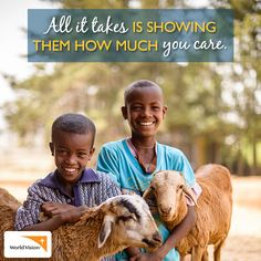 Week 27: No deed is too small when it comes to letting a child know that they are unique and truly valued! Find out how you can help at http://www.worldvision.org/get-involved?&campaign=108929189