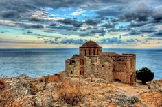 There's a secret island in Greece which has remained hidden from the bustle of tourists far longer than the rest of the country. It's called Monemvasia.