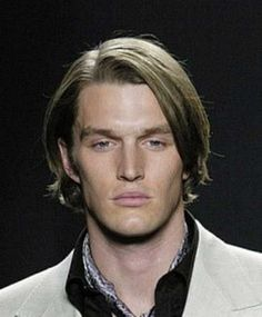 Mens Long Hairstyles for Straight Fine Hair Idea