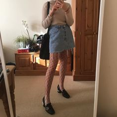 Fishnets are a way to add a bit of bad-girl bite to any look.