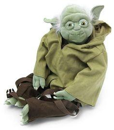 Comic Images Yoda Buddies Backpack Plush