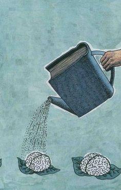 Kitap aklin ilacıdır.