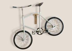 Corridor is a semi-foldable bike designed for small homes