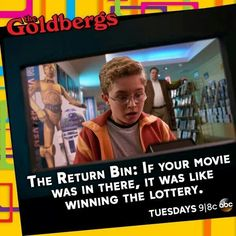 The Goldbergs-- this show is hilarious. It brings lots of childhood memories back. This one is no exception.