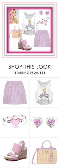 """""""Pink and Chill Comfort Set"""" by mcronald-denise ❤ liked on Polyvore featuring Miu Miu, Bling Jewelry and Prada"""