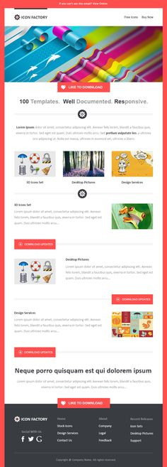 d53d39ed78164 Email Newsletter Examples, Business Email Templates Sample Newsletter  Sample, Newsletter Templates, Email Templates