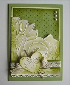 Stampin' Up!® Australia: Ann Craig - distINKtive STAMPING designs: Manhattan Flower and other Embossing Folders Stampin Up Karten, Stampin Up Cards, Pretty Cards, Love Cards, Card Making Inspiration, Making Ideas, Hand Stamped Cards, Embossed Cards, Penny Black