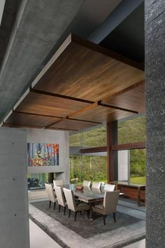 Monterrey Modern by Surber Barber Choate + Hertlein Architects - Ceiling design Home Design, Modern Interior Design, Interior Architecture, Modern Ceiling Design, Design Ideas, Office Ceiling Design, Interior Ceiling Design, Design Concepts, Blog Design