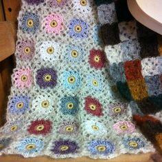 "Crochet ""mini"" con algodón y mohair Facebook Tricrochet"