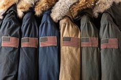 "Woolrich John Rich & Bros. Fall 2013 ""Aged"" Parka Collection 1"