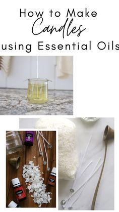 Check out this post that outlines exaclty how to make and scent your own candles using essential oils. Fall Essential Oils, Making Essential Oils, Essential Oil Candles, Essential Oil Blends, Homemade Candles, Diy Cleaners, Soy Wax Melts, Beeswax Candles, Diffuser Blends