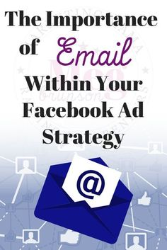 Click to learn about the importance of email within your Facebook Ad Strategy. Make sure to not only make your Facebook Ad strong, but also the email that goes along with your sales funnel. #facebook #marketing #MegBrunson Email Marketing Design, Email Marketing Campaign, Facebook Marketing, Social Media Marketing, Gift Wrapping, Facebook Business, Blogger Tips, Business Tips, Ads