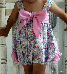 Mommy's Apron Strings: Sweet Baby Jane Sun Suit