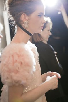 Chanel Couture 2011 backstage