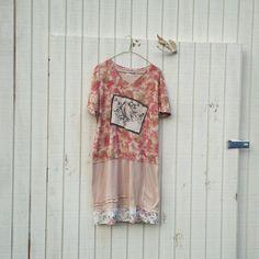 large / plus  oversized Funky Eco Dress / Upcycled by CreoleSha, $72.99