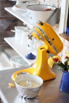 Kitchen Aid Yellow
