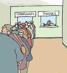 STOP complaining and give THANKS!