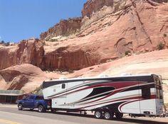 RV Liberty's beautiful #Landmark 365 in #Arizona! #RVLife #GoRVing Follow their blog: http://landyachtliberty.blogspot.com/