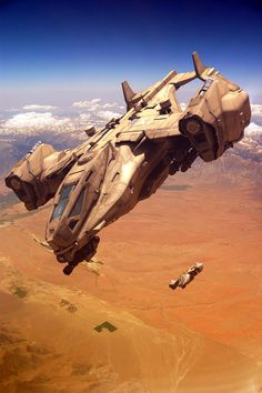 Heavy Dropship by GrahamTG on DeviantArt Spaceship Art, Spaceship Design, Cyberpunk, Star Citizen, Concept Ships, Concept Art, Corvette Cabrio, Science Fiction Kunst, Starship Concept