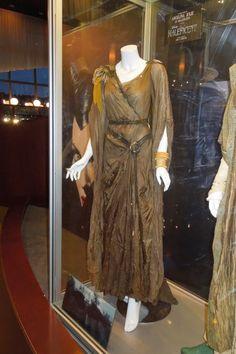 Angelina Jolie Maleficent movie forest costume