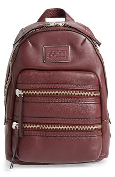 MARC BY MARC JACOBS 'Domo Biker' Leather Backpack | Nordstrom