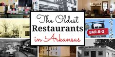 Thrillist put out a new story on the oldest restaurants in all 50 states -- and it was WRONG ABOUT ARKANSAS.  Discover The Natural State's oldest restaurants at Tie Dye Travels. #arkansasfood  The Oldest Restaurants in Arkansas. | Tie Dye Travels with Kat Robinson