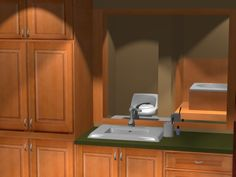 Bathroom Interior Design Software, Sink, Kitchen Cabinets, Bathroom, Storage, Furniture, Home Decor, Kitchen Cupboards, Bath Room