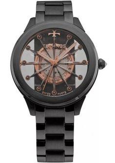 2b4222a7f60 Relógio Technos Feminino Elegance Crystal F03101AC 4W