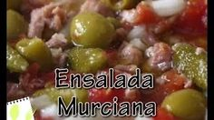 Muchas Recetas - YouTube Ensalada Murciana