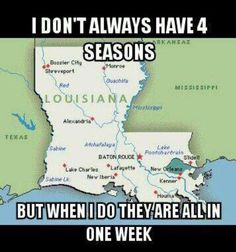 Louisiana weather
