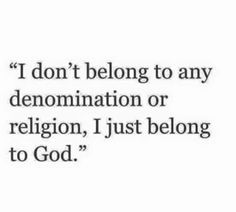 cal, I'm also nondenominational.  :P  but that's not the point though