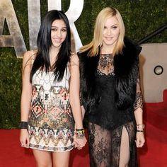 Madonna's daughter Lourdes caught underage drinking at mum's concert #Madonna, #Lourdes, #Entertainment