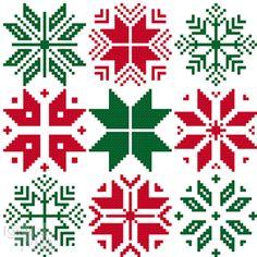 9 Nordic Snowflakes for cross stitch greeting cards cross stitch chart digital pdf pattern winter christmas snowflakes stars Scandinavian Cross Stitching, Cross Stitch Embroidery, Cross Stitch Tree, Cross Stitch Designs, Cross Stitch Patterns, Cursive Alphabet, Alphabet Cards, Christmas Cross, Christmas Snowflakes