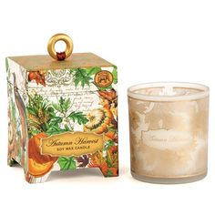 Bring the fragrance of fall indoors with this Michel Design Works candle. #MDWgifts