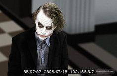 The Dark Knight // Heath Ledger As The Joker